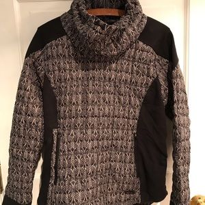 North face Cowell neck puffy sweater